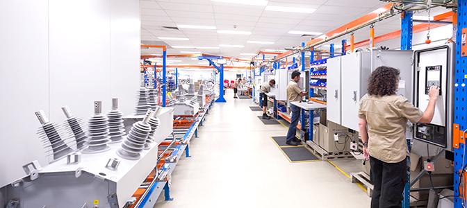 NOJA Power mantém produção com capacidade total