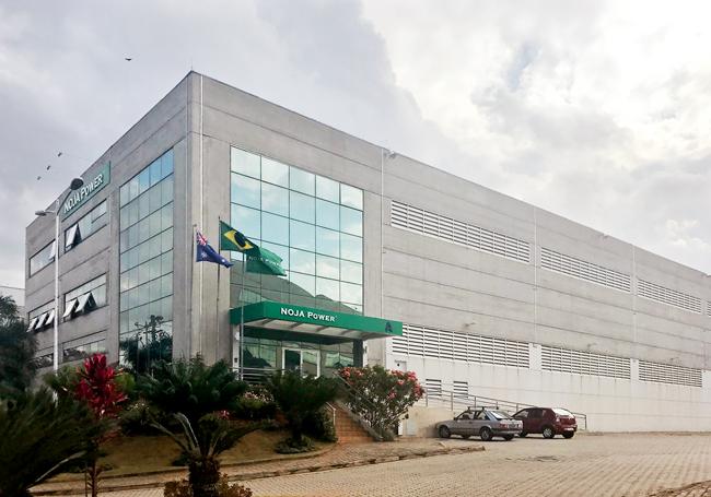 Figura 1 – Nova Sede da NOJA Power Brasil