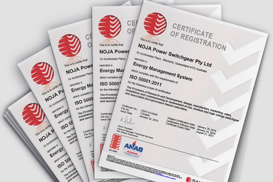 Certificação ISO 50001