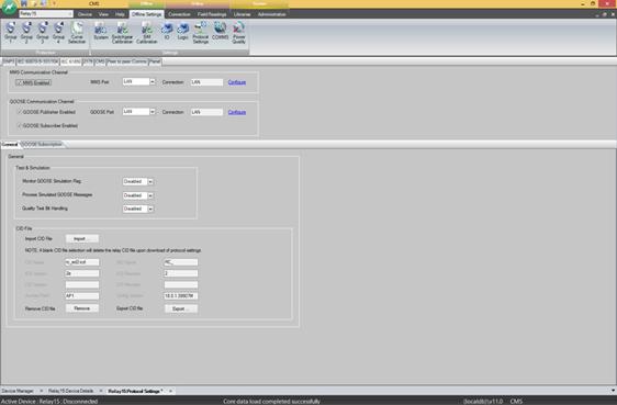 Software CMS NOJA Power