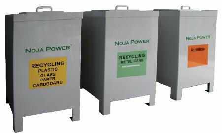 Cestas de Reciclagem da NOJA Power