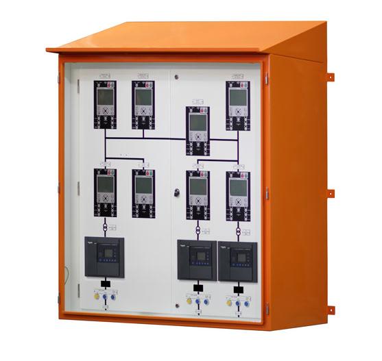 Unidade de Painel Remoto Customizado IHM da NOJA Power