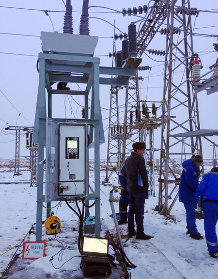 O Religador da NOJA Power integrado em um sistema de controle da subestação