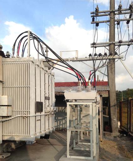 Instalação de Religadores NOJA Power em Subestação da NAPOCOR em Filipinas