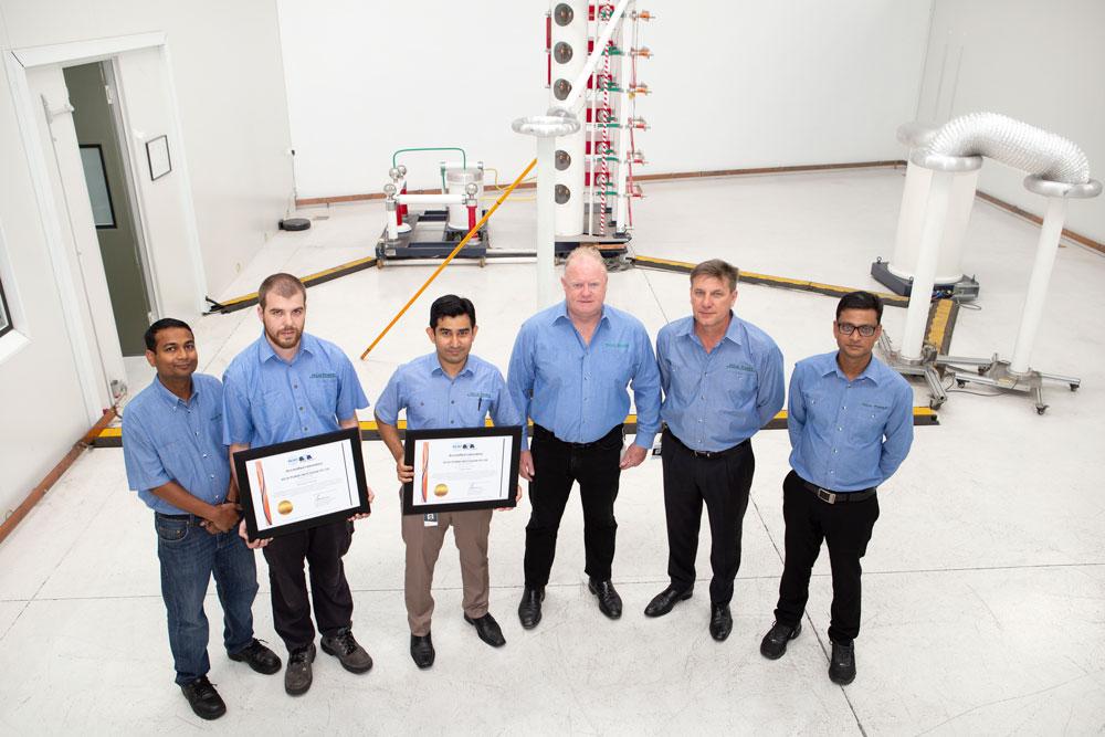Laboratório de Teste NOJA Power obtém a Acreditação ISO/IEC17025