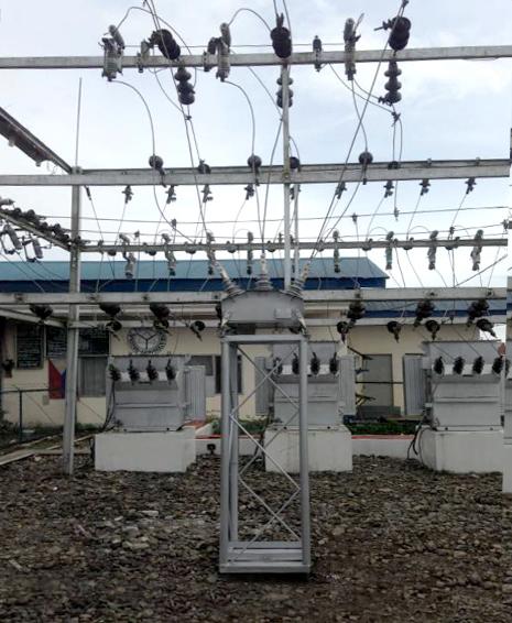 Instalação de Religadores NOJA Power em Subestação da NAPOCOR em Mindanao do Norte, Filipinas