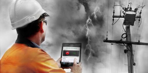 O app Religador NOJA Power roda em dispositivos móveis da Apple e permite que um eletricista verifique o estado do ACR e fazer alterações na sua operação sem precisar sair do chão
