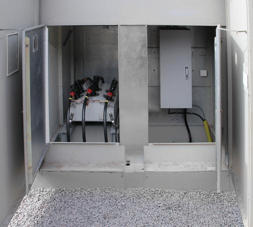 Buchas DIN cônicas dos Religadores Automáticos da série 310 da NOJA Power