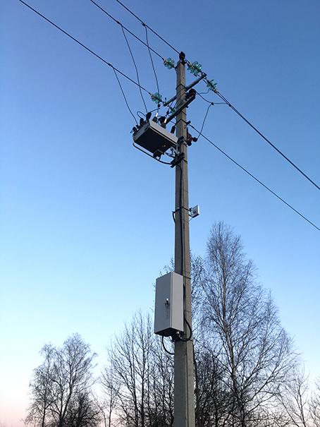 A instalação do Religador da NOJA Power.
