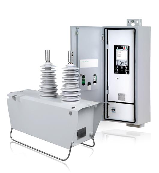 Religador Automático Monofásico NOJA Power com Cabine de Controle e Comunicação RC10