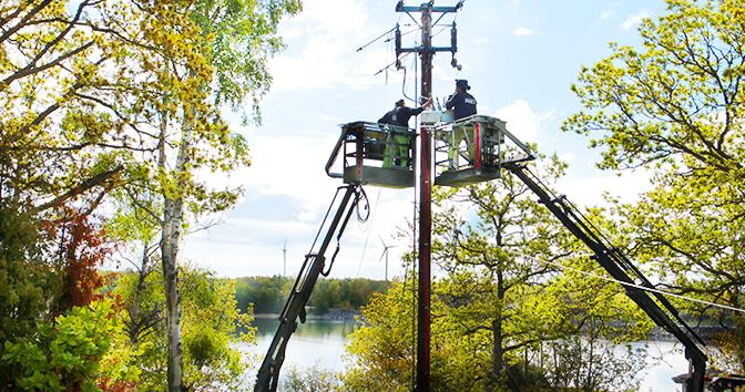 Instalação do Religador OSM da NOJA Power na Suécia