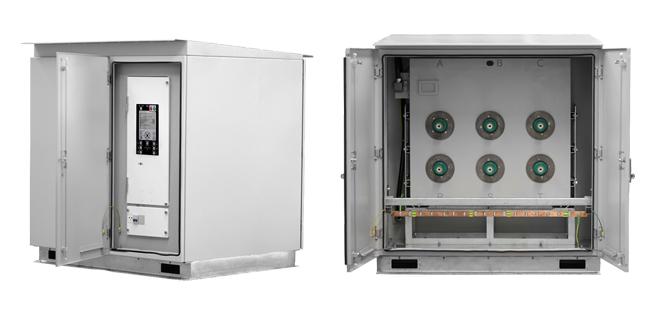 Quiosque de Solo Compacto NOJA Power de 27KV (GMK)