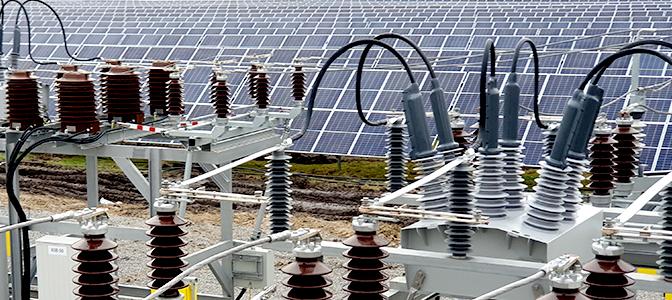 Religadores OSM NOJA Power usados para conexão de um Parque Solar de 17 MW à Rede de Distribuição de Média Tensão.